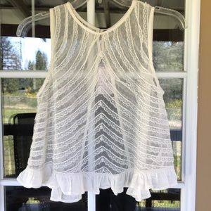 NWT Free People Lace Top